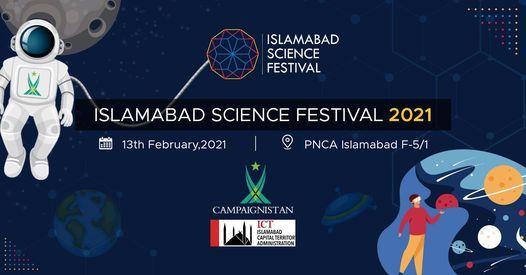IMCB F-10/4 participates in Science Festival on February 13, 2021.