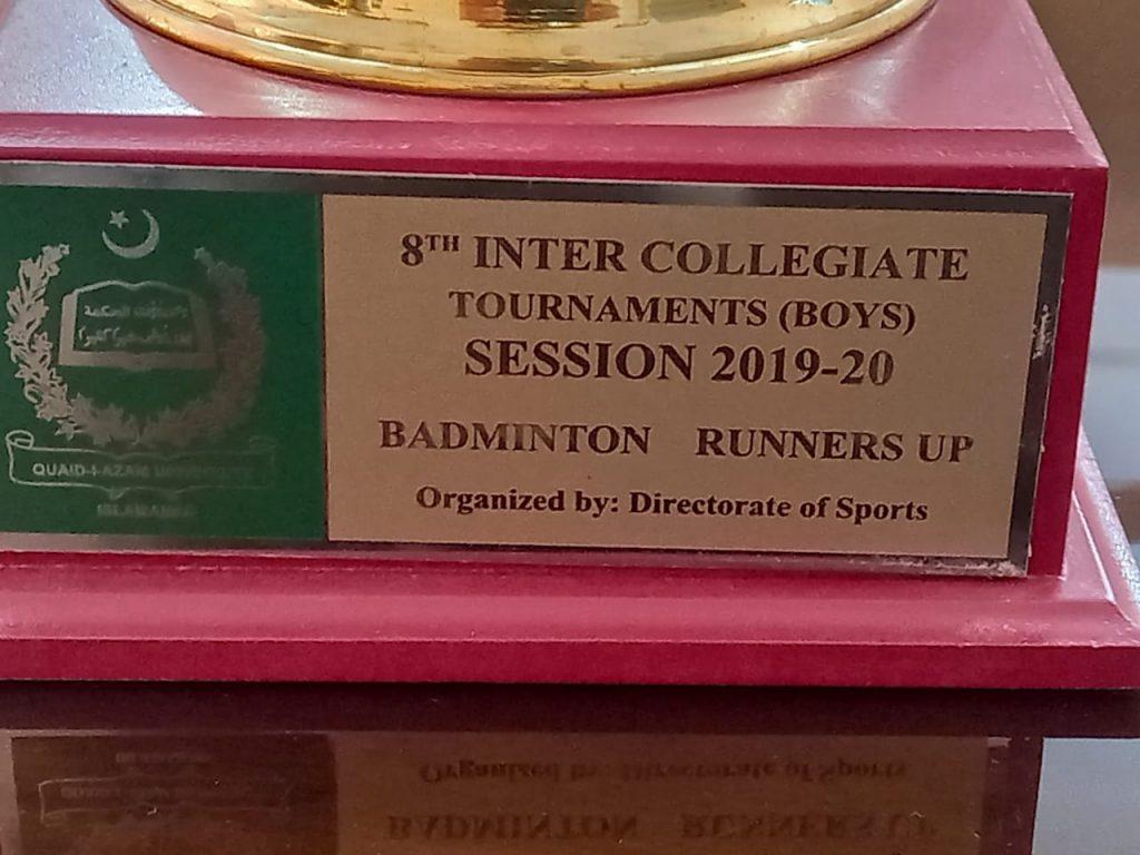 badminton runners-up